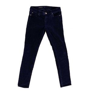 Kut From the Kloth Mia Toothpick Skinny Cords Blue